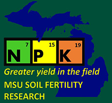 Michigan State Soil Fertility Logo